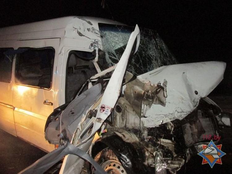 Маршрутка со школьниками из Иваново попала в аварию на трассе Брест-Минск
